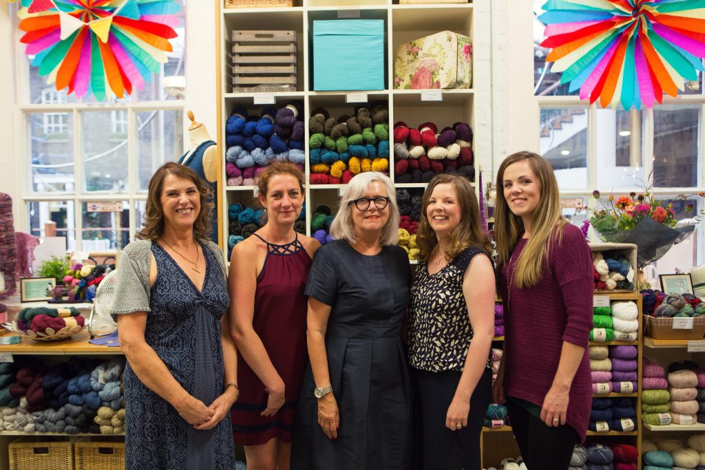Debbie Bliss and Louisa Harding Special Guests at the This is Knit 10th Anniversary Party