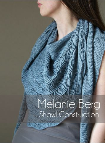 Title Image for Melanie Berg's Shawl Construction Workshop at This is Knit in Dublin on Sat 8th April 2017
