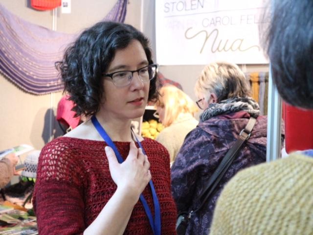 Carol Feller at EYF