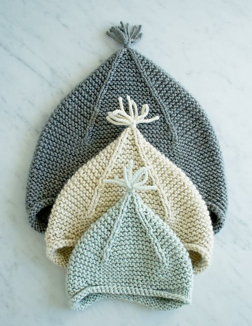 Garter Ear Flap Hat 15 Knitted Gift Ideas