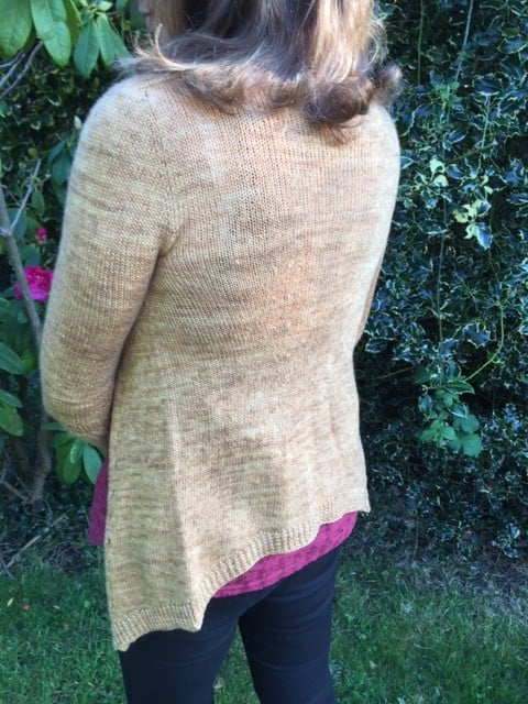 Airflow Cardigan Knitting Pattern