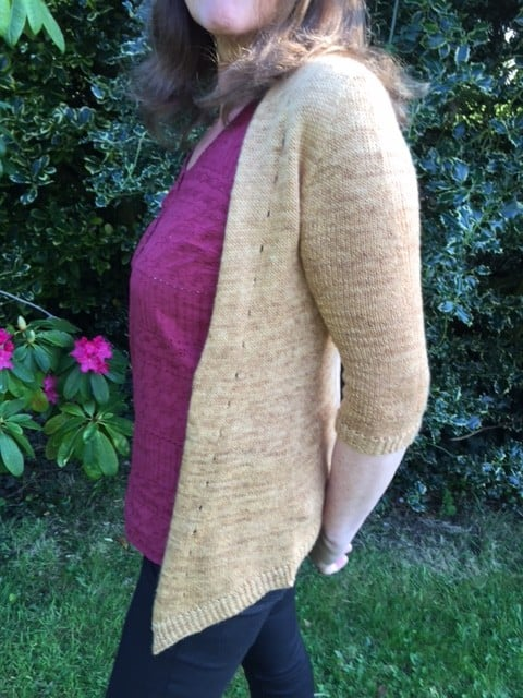 Airflow Cardigan Fade St 4ply