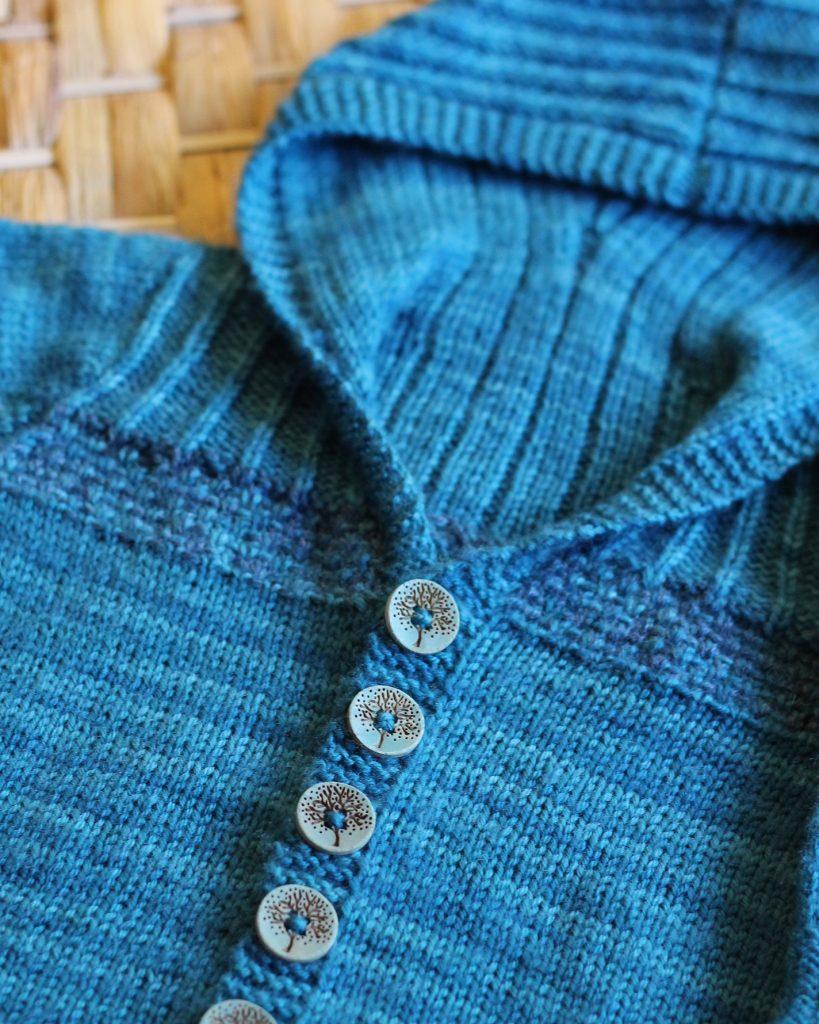 Wee Austin Hoodie Baby Knitting Pattern