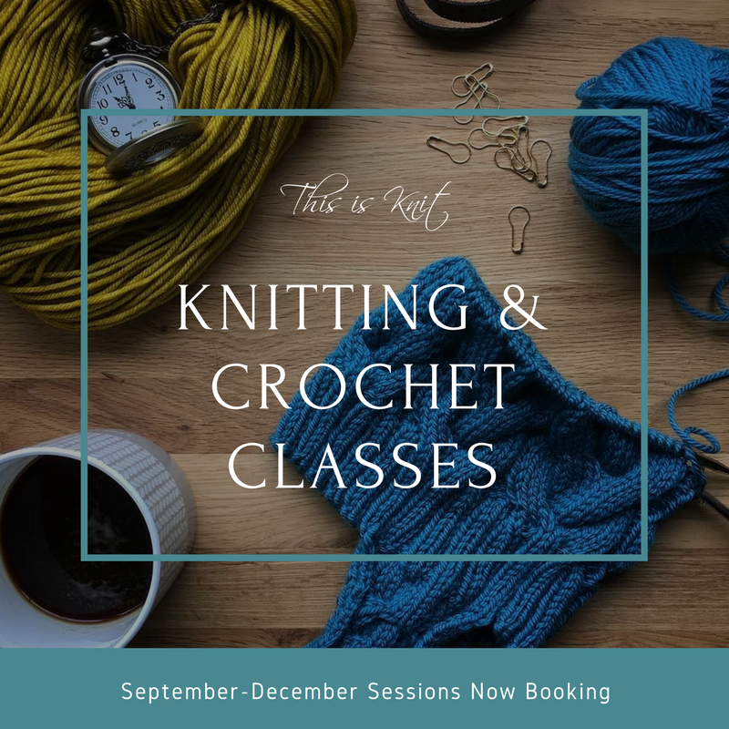 Dublin Knitting Crochet Classes Now Booking