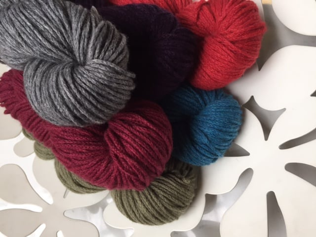 Mixed Shades of Debbie Bliss Lhasa Yarn