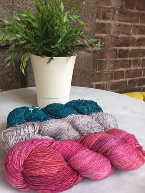 Colour Suggestions for the This is Knit Spring KAL 2017 in Mechita