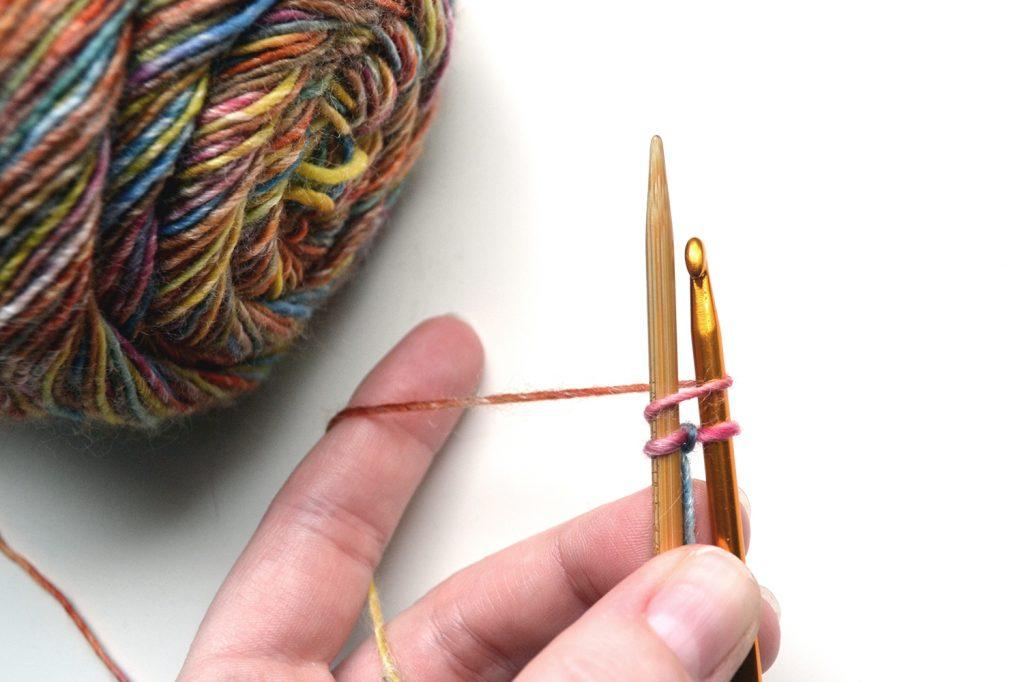 Knitting Crochet Cast On