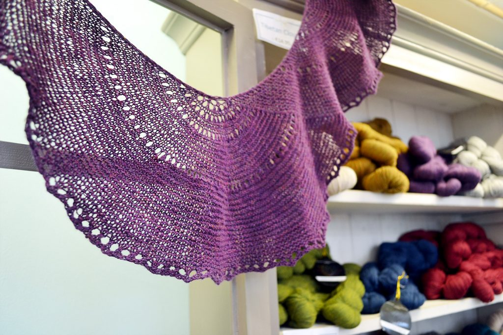 Rondelay Shawl Knitting Pattern